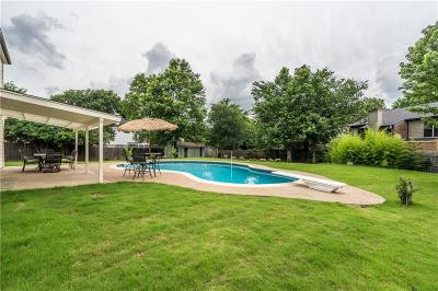 Grapevine Single Family Home Active Contingent: 4321 Woodglen Drive