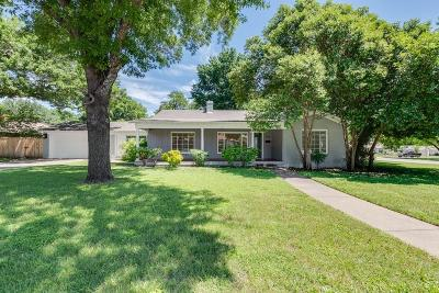 Fort Worth Single Family Home For Sale: 3600 Brighton Road