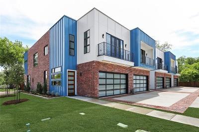 Dallas Townhouse For Sale: 1260 Annex Avenue