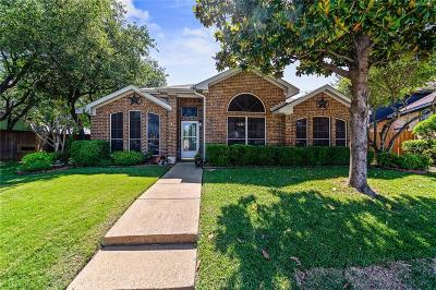Rowlett Single Family Home For Sale: 1606 Foxwood Drive