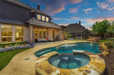 Frisco Single Family Home Active Contingent: 14002 Willow Bend Drive