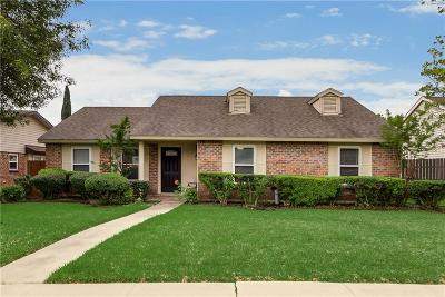 The Colony Single Family Home Active Option Contract: 4317 Fryer Street
