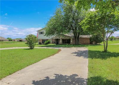 Haslet Single Family Home For Sale: 204 Blue Mound Road E