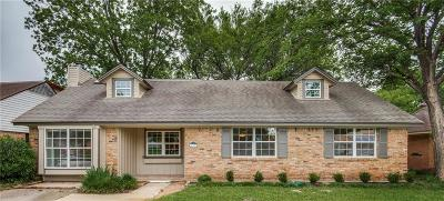 Irving Single Family Home For Sale: 630 Cambridge Drive