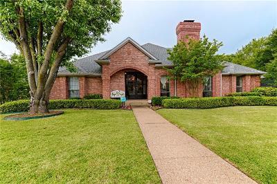 Irving Single Family Home For Sale: 100 Huntersridge Court