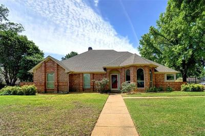 Keller Single Family Home Active Contingent: 1508 Brentwood Trail