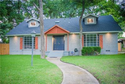 Dallas Single Family Home For Sale: 4131 Shoreline Drive
