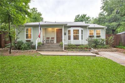 Dallas County Single Family Home For Sale: 8787 Rexford Drive