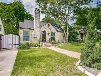 Dallas TX Single Family Home Active Contingent: $359,000