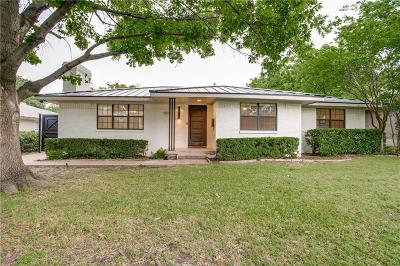 Single Family Home For Sale: 6811 Walnut Hill Lane