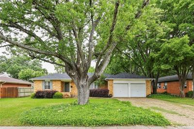 Richardson Single Family Home Active Option Contract: 210 Betty Drive