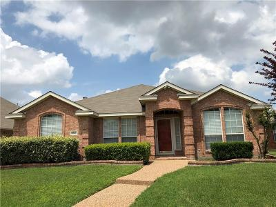 Allen Single Family Home Active Option Contract: 1517 High Country Lane