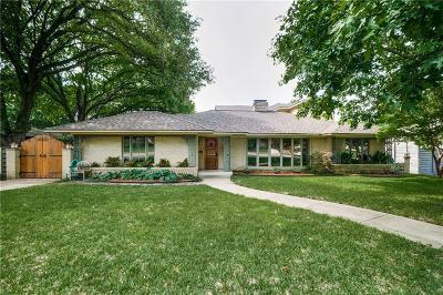 Dallas Single Family Home For Sale: 6922 Cornelia Lane
