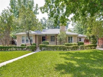 Fort Worth Single Family Home For Sale: 3627 W Biddison Street