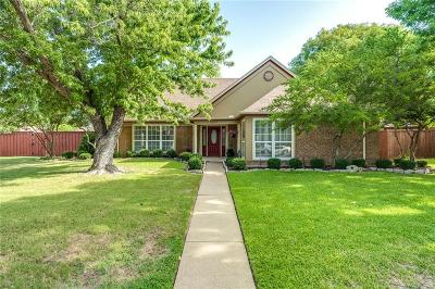 Lewisville Single Family Home Active Option Contract: 1309 Havencreek Cove