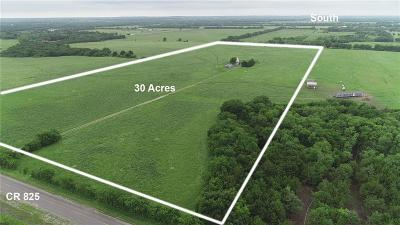 Collin County Farm & Ranch For Sale: 8021 County Road 623 #30 AC