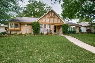 Lake Highlands Single Family Home For Sale: 7167 Cosgrove Drive