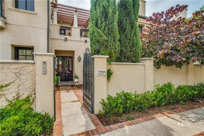 Fort Worth Townhouse For Sale: 2709 Calder Court