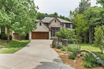 Grapevine Single Family Home Active Option Contract: 800 Spring Creek Drive