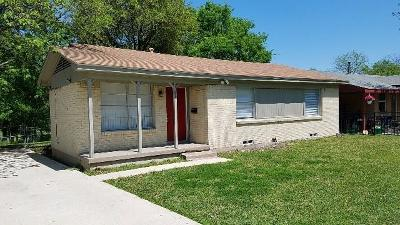 Mesquite Single Family Home For Sale: 1309 Woodcrest Drive