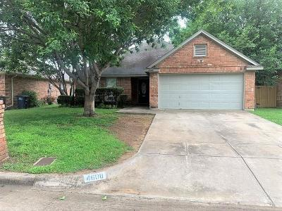 Fort Worth Single Family Home Active Option Contract: 4608 Birchbend Lane