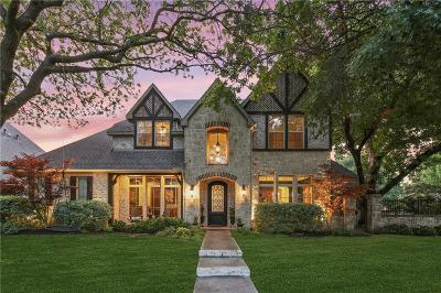 Dallas County Single Family Home For Sale: 6929 Charade Drive