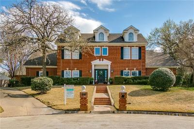 Colleyville Single Family Home Active Option Contract: 4004 Fair Hill Court
