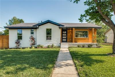 Richardson Single Family Home Active Option Contract: 315 Oakcrest Drive