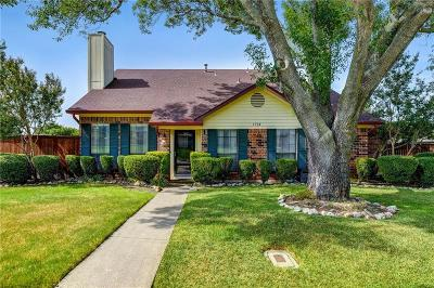 Lewisville Single Family Home Active Option Contract: 1714 Sterling Lane