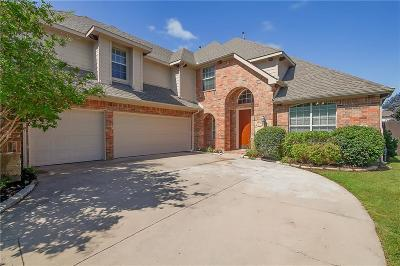 Sachse Single Family Home Active Option Contract: 6311 Falcon Crest Court