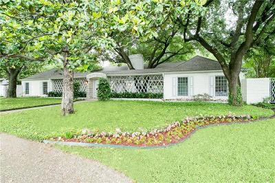Single Family Home For Sale: 7316 Spring Valley Road