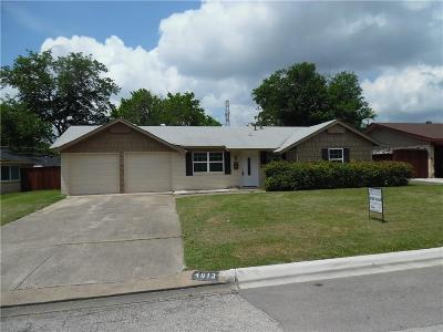 Haltom City Single Family Home For Sale: 4613 Madella Street