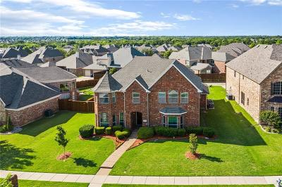 Wylie TX Single Family Home Active Contingent: $384,900