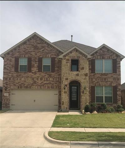 Aubrey Single Family Home For Sale: 1728 Meadow Trail Lane