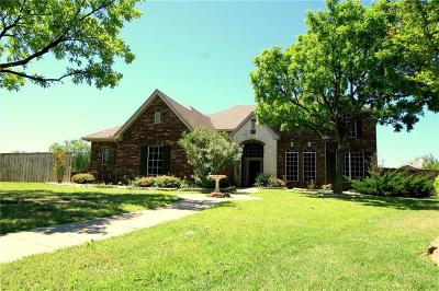 The Colony Single Family Home Active Option Contract: 3821 Leeward Circle