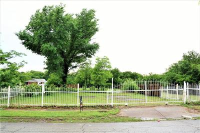 Fort Worth Residential Lots & Land Active Option Contract: 4636 Shackleford Street