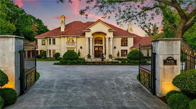 Preston Hollow Single Family Home For Sale: 9420 Hathaway Street