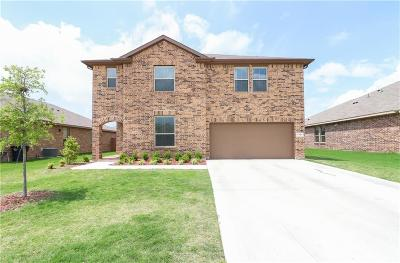 Cleburne Single Family Home Active Option Contract: 1721 Cross Creek Lane