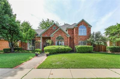 Plano Single Family Home Active Option Contract: 2604 Trophy Drive