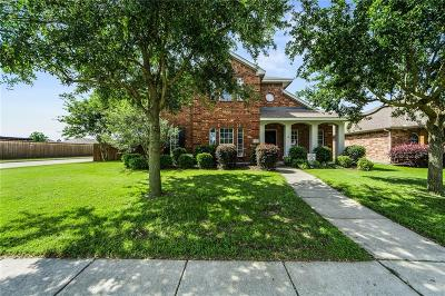 Allen Single Family Home Active Option Contract: 1620 Warm Springs Drive