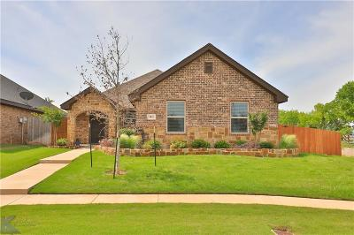 Abilene Single Family Home Active Option Contract: 3831 Bettes Lane