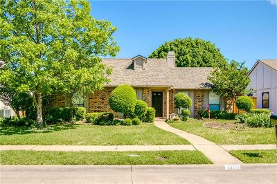 Allen Single Family Home Active Option Contract: 1305 Crestview Drive