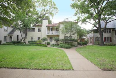 Highland Park Residential Lease For Lease: 4419 Westway Avenue