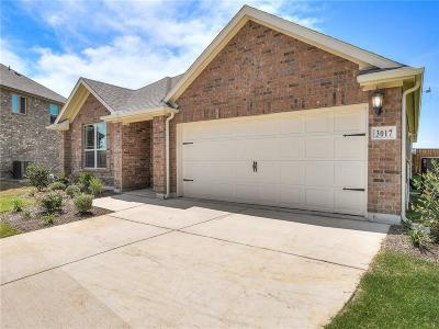 Aubrey Single Family Home For Sale: 3017 Marshall Trail Road