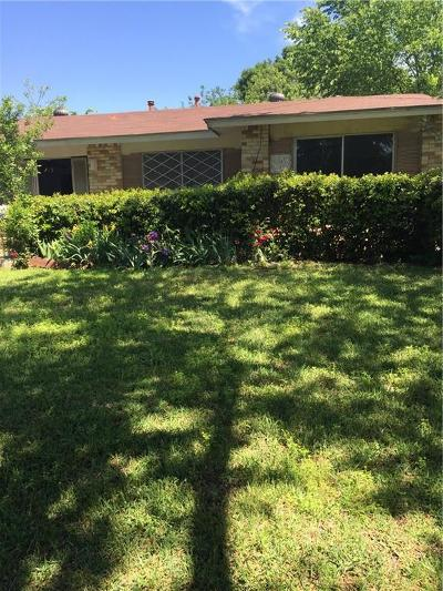 Dallas Single Family Home For Sale: 4677 Wyoming Street