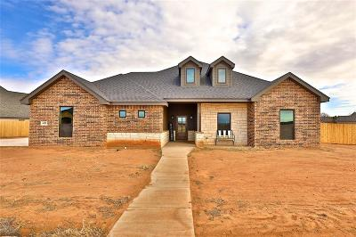 Abilene Single Family Home For Sale: 6429 Red Yucca Road
