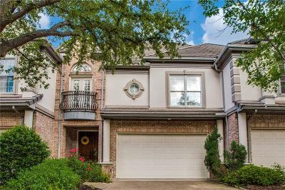 Irving Townhouse Active Option Contract: 4316 Castle Rock Court