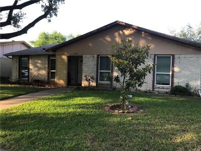 Garland Single Family Home For Sale: 4310 Mayflower Drive