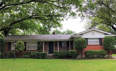 Garland Single Family Home Active Contingent: 3605 Tulane Way