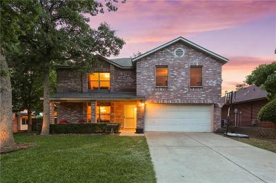 Corinth TX Single Family Home Active Option Contract: $257,500